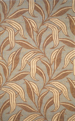Trans-Ocean Import Co., Inc. - Ravella Leaf Driftwood 5x8 Rug - RVL57190219
