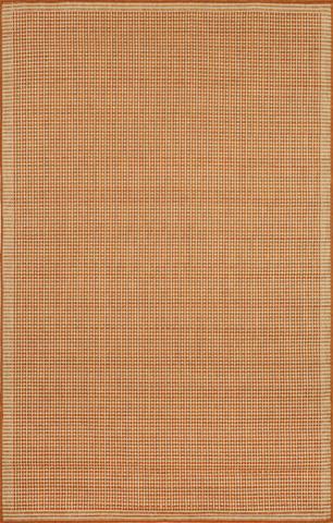 Trans-Ocean Import Co., Inc. - Terrace Texture Terracotta 5x8 Rug - TER58176264