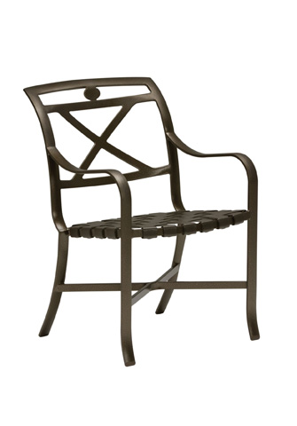 Tropitone Furniture Co., Inc. - Palladian Strap Dining Chair - 109924