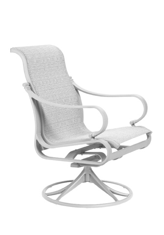 Tropitone Furniture Co., Inc. - Torino Sling Swivel Rocker - 150369