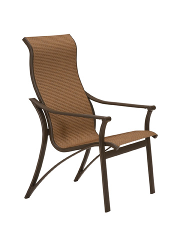 Tropitone Furniture Co., Inc. - Corsica Sling High Back Dining Chair - 161101