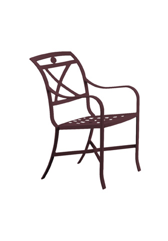 Tropitone Furniture Co., Inc. - Palladian Cast Dining Chair - 170024