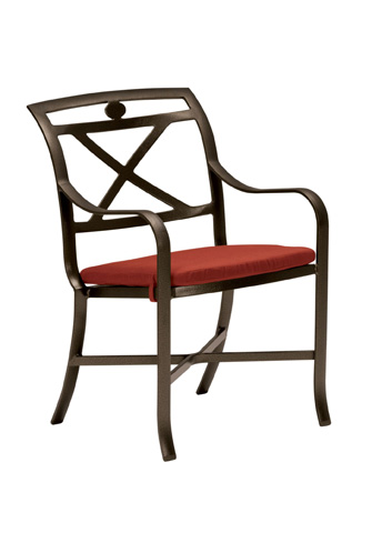 Tropitone Furniture Co., Inc. - Palladian Cast Dining Chair with Pad - 17002405