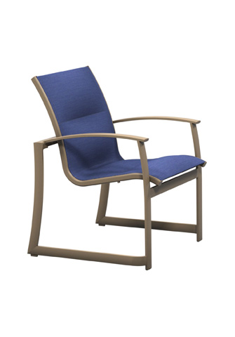 Tropitone Furniture Co., Inc. - MainSail Padded Sling Dining Chair - 181024PS