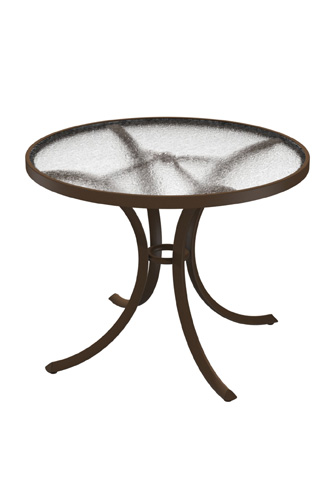 Tropitone Furniture Co., Inc. - Acrylic Round Dining Table - 1836A