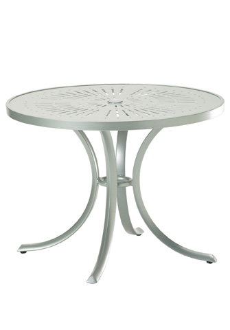 Tropitone Furniture Co., Inc. - La'Stratta Round Dining Umbrella Table - 1836SLU