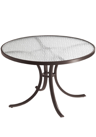 Tropitone Furniture Co., Inc. - Acrylic Round Dining Table - 1842A