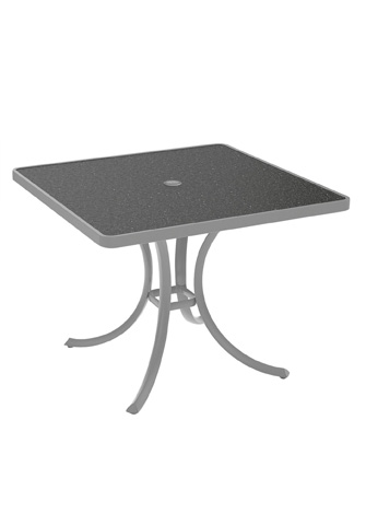 Tropitone Furniture Co., Inc. - Raduno Square Dining Umbrella Table - 1876HU