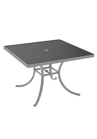 Tropitone Furniture Co., Inc. - Raduno Square Dining Umbrella Table - 1877HU