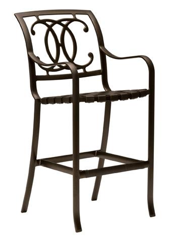 Tropitone Furniture Co., Inc. - Palladian Strap Barstool - 220026
