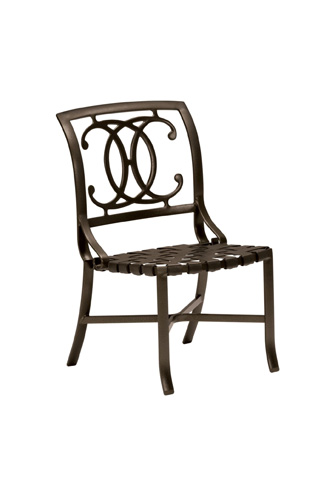 Tropitone Furniture Co., Inc. - Palladian Strap Side Chair - 220028