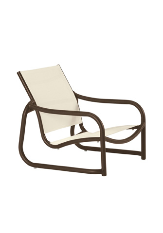 Tropitone Furniture Co., Inc. - La Scala Relaxed Sling Sand Chair - 330713