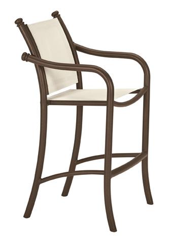 Tropitone Furniture Co., Inc. - La Scala Relaxed Sling Stationary Barstool - 330726