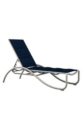 Tropitone Furniture Co., Inc. - La Scala Padded Sling Chaise Lounge - 330732PS