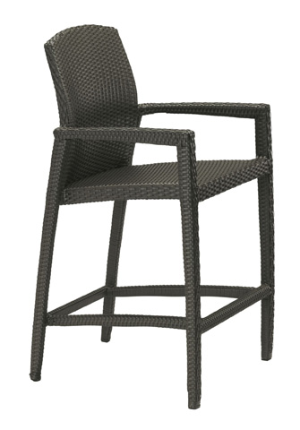 Tropitone Furniture Co., Inc. - Evo Woven Stationary Barstool - 360826