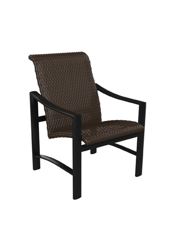 Tropitone Furniture Co., Inc. - Kenzo Woven Dining Chair - 381537WS