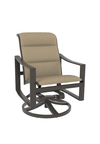 Tropitone Furniture Co., Inc. - Kenzo Padded Sling Swivel Rocker - 381569PS