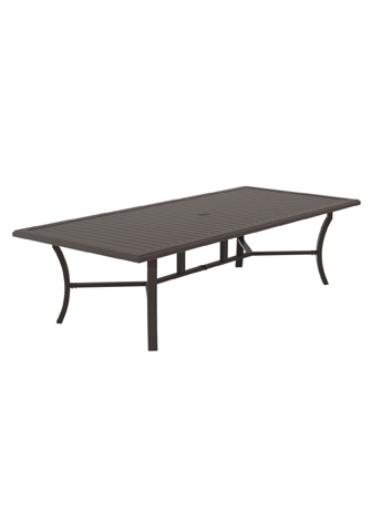 Tropitone Furniture Co., Inc. - Banchetto Rectangular Dining Umbrella Table - 401119U