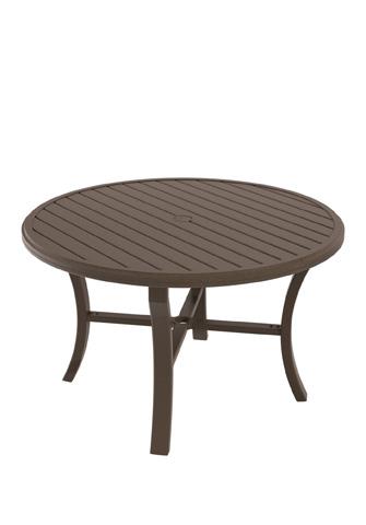 Tropitone Furniture Co., Inc. - Banchetto Round Dining Umbrella Table - 401148U