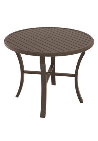 Tropitone Furniture Co., Inc. - Banchetto Round Counter Umbrella Table - 401148U-34
