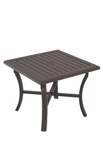 Tropitone Furniture Co., Inc. - Banchetto Square Dining Umbrella Table - 401176U