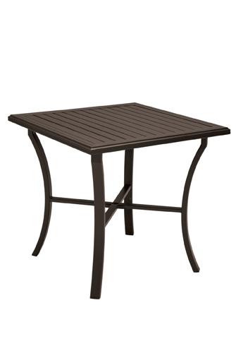 Tropitone Furniture Co., Inc. - Banchetto Square Bar Table - 401191