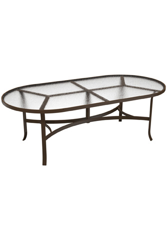 Tropitone Furniture Co., Inc. - Acrylic Oval Dining Table - 4284A