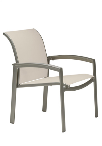 Tropitone Furniture Co., Inc. - Elance Relaxed Sling Dining Chair - 461124