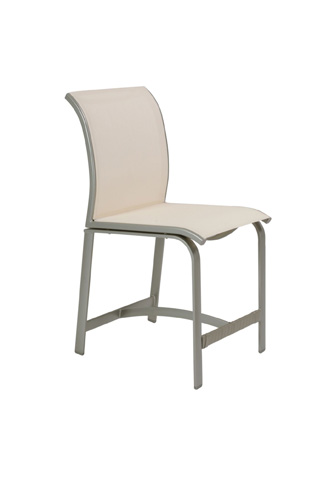 Tropitone Furniture Co., Inc. - Elance Relaxed Sling Armless Counter Height Stool - 461429-25