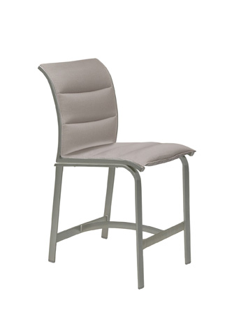 Tropitone Furniture Co., Inc. - Elance Padded Sling Armless Counter Height Stool - 461429PS-25