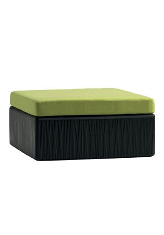 Tropitone Furniture Co., Inc. - Mobilis Square Ottoman - 610717SO