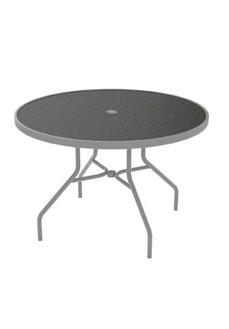 Tropitone Furniture Co., Inc. - Raduno Round Umbrella Dining Table - 646NHU