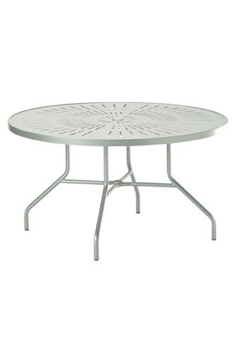 Tropitone Furniture Co., Inc. - La'Stratta Round Dining Umbrella Table - 647NSLU