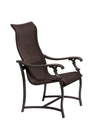 Tropitone Furniture Co., Inc. - Ravello Woven Dining Chair - 650701WS