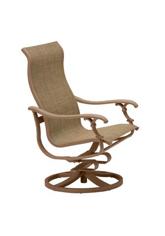 Tropitone Furniture Co., Inc. - Ravello Sling Swivel Action Lounger - 650725NT
