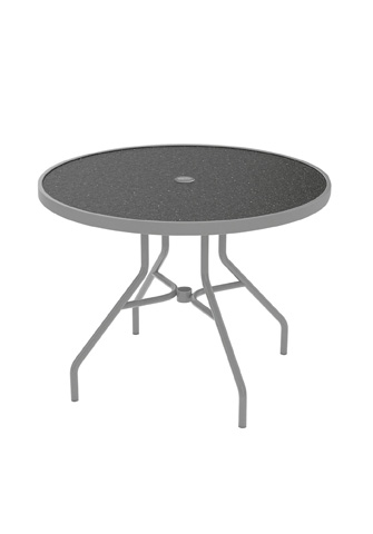 Tropitone Furniture Co., Inc. - Raduno Round Dining Umbrella Table - 670HU