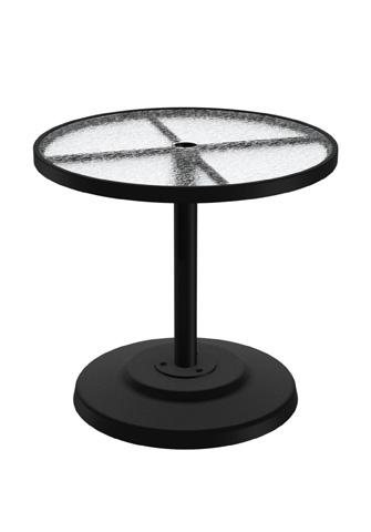 Tropitone Furniture Co., Inc. - Acrylic Round Dining Umbrella Table - 701441AU
