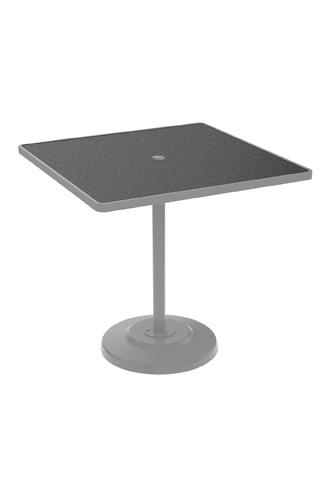 Tropitone Furniture Co., Inc. - Raduno Bar Height Table with Umbrella Hole - 701491HU