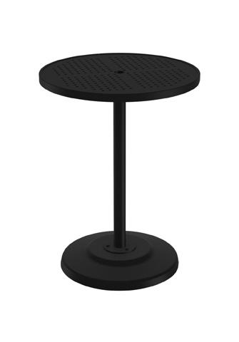 Tropitone Furniture Co., Inc. - Boulevard Pedestal Bar Umbrella Table - 701493SBU