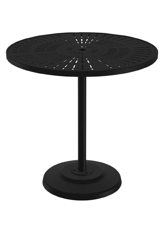 Tropitone Furniture Co., Inc. - La'Stratta Bar Umbrella Table - 701498SLU