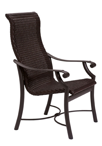 Tropitone Furniture Co., Inc. - Montreux Woven Dining Chair - 710101WS
