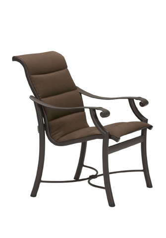 Tropitone Furniture Co., Inc. - Montreux Padded Sling Dining Chair - 710137PS