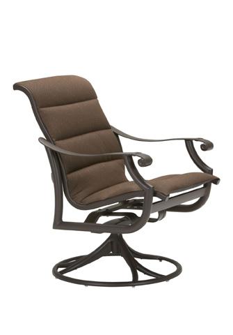 Tropitone Furniture Co., Inc. - Montreux Padded Sling Swivel Rocker - 710169PS
