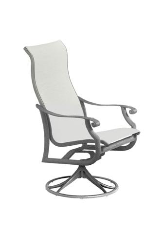 Tropitone Furniture Co., Inc. - Montreux Sling High Back Swivel Rocker - 710170