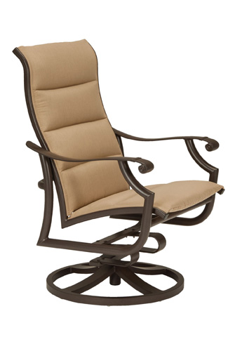 Tropitone Furniture Co., Inc. - Montreux II Padded Sling Swivel Action Lounger - 711225NTPS