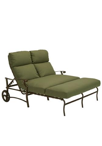 Tropitone Furniture Co., Inc. - Montreux II Cushion Double Chaise Lounge - 721375W