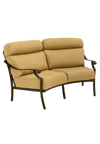 Tropitone Furniture Co., Inc. - Montreux II Cushion Crescent Loveseat - 721410CL