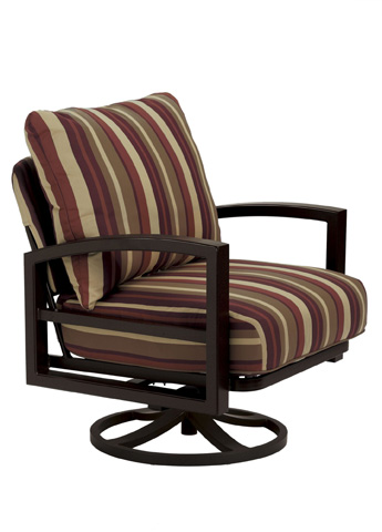 Tropitone Furniture Co., Inc. - Lakeside Cushion Swivel Action Lounge Chair - 730525NT