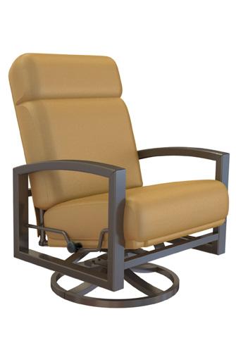 Tropitone Furniture Co., Inc. - Lakeside Cushion Swivel Action Lounger - 730525NTSA