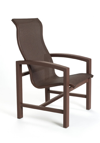 Tropitone Furniture Co., Inc. - Lakeside Sling Dining Chair with High Back - 740501